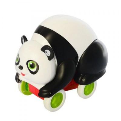 Jucărie bebeluși Ursuleț Panda - Push and go