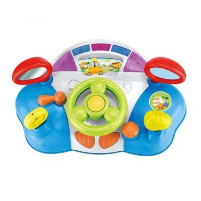Centru activități bebeluși mașină cu volan și funcții