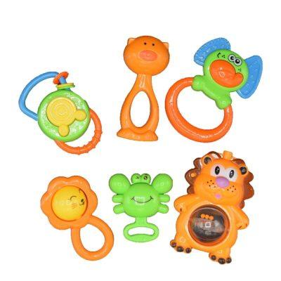 Set jucării zornăitoare pentru bebeluși