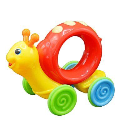 Jucărie bebeluși Melc - apasă și merge