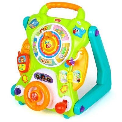 Antemergător bebeluși 3 în 1 cu centru de activități interactive