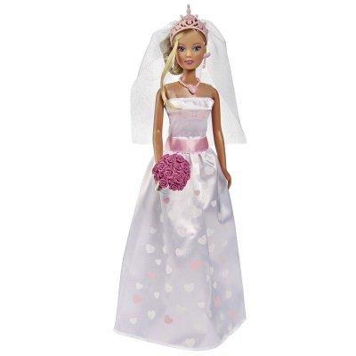 Păpușă în rochie de mireasă - Steffi Love