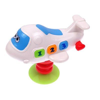 Avion de jucărie cu ventuză Baby Plane