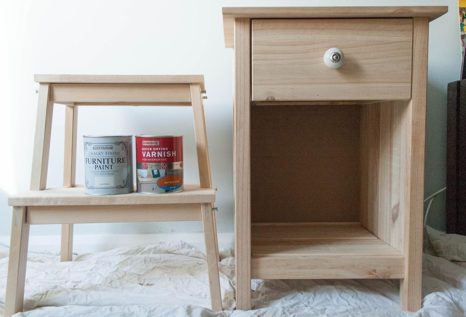 Ghenet Actually || DIY Sidetable