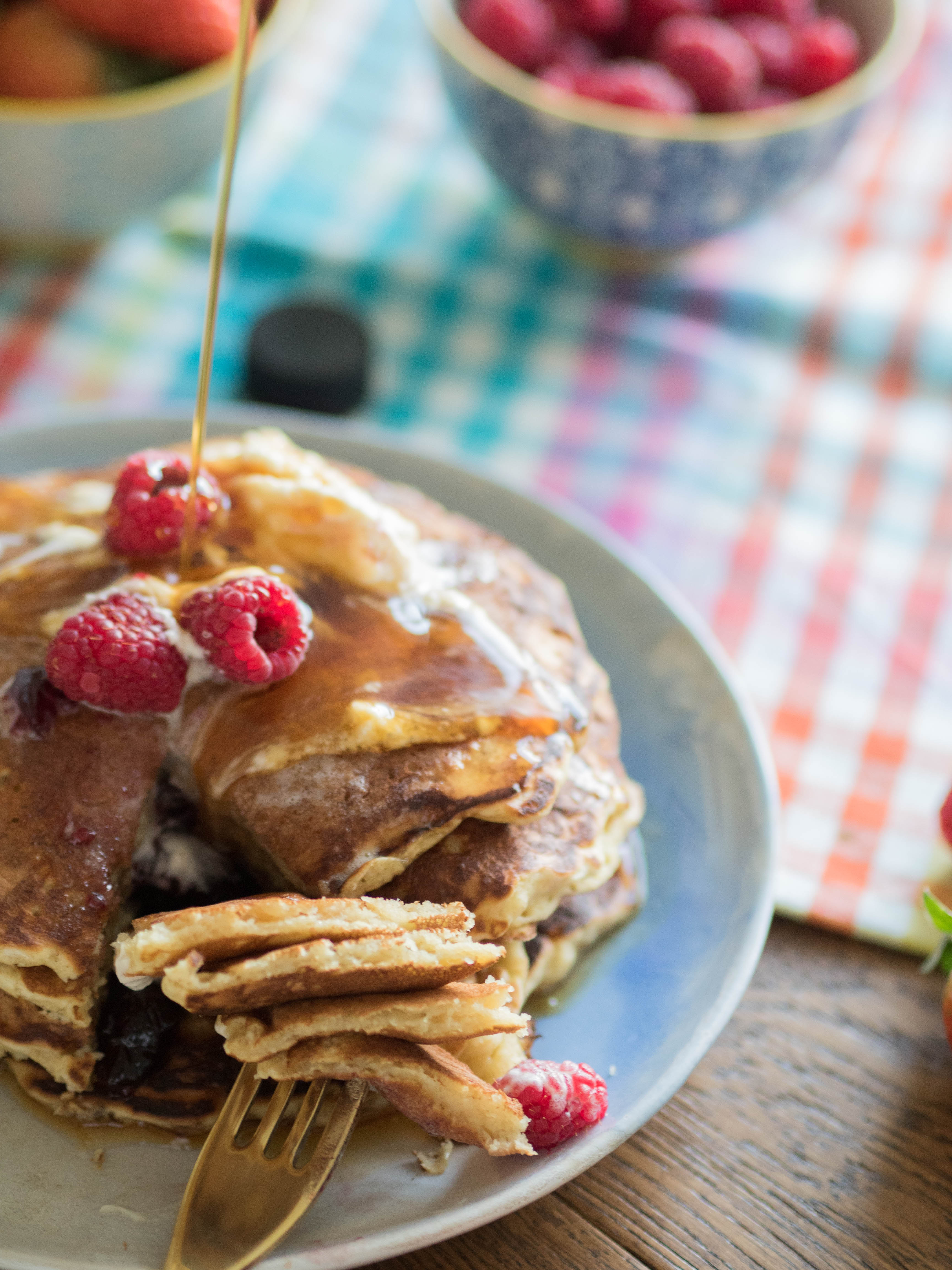 Ghenet Actually || Fluffy Buttermilk Pancakes