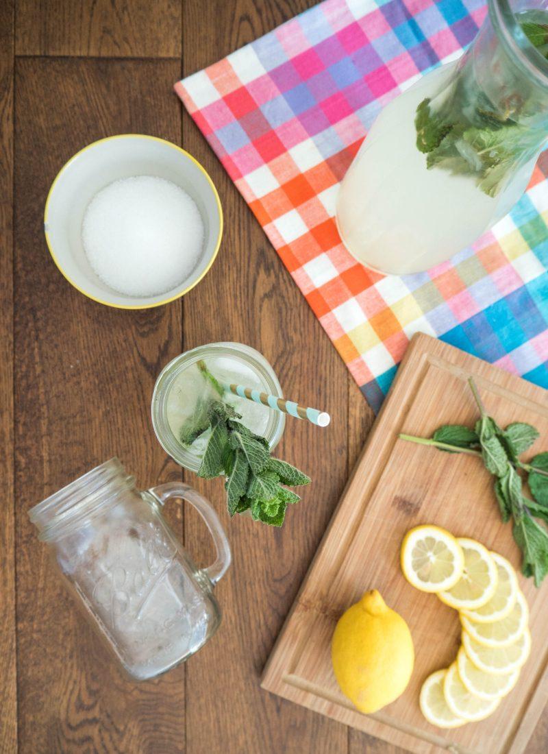 Recipe || Summery Mint Lemonade