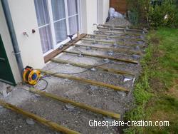 La Fixation Des Solives Sur Les Pots Beton Solives Terrasse