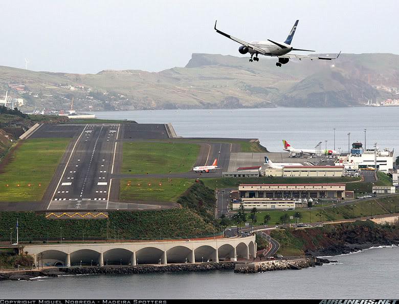 Cамые экстремальные аэропорты мира