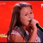 Oana Tаbultoc, 12 лет, исполняет песню А.Пугачевой - Любовь похожая на сон.