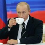 Что кушает  Путин в день рождения