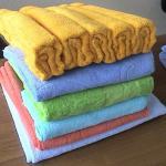 Полотенце помогает от целлюлита.