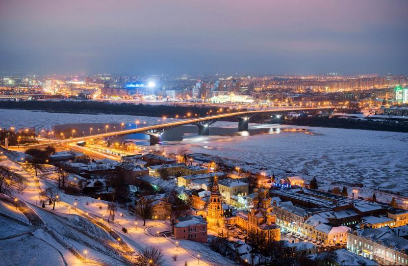 Старый город Нижнего Новгорода