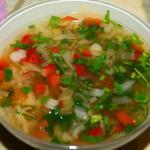 Готовим суп для похудения.