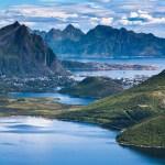 Норвегия -  Лофотенские острова. Фото