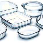 Чистим стеклянную посуду.