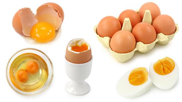 Яйца куриные. Кратко о пользе продуктов.