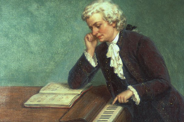 Краткая биография  Моцарта