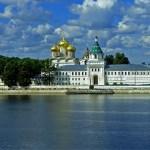 Колыбель династии Романовых. Ипатьевский монастырь. Кострома.