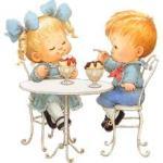 Дети и хорошие манеры за столом.