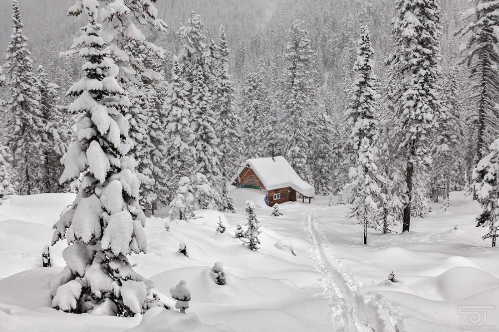 domik v snegu