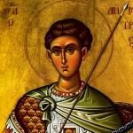 8 ноября день памяти великомученика Димитрия Солунского.