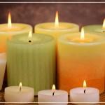 Зажигайте в доме свечи.
