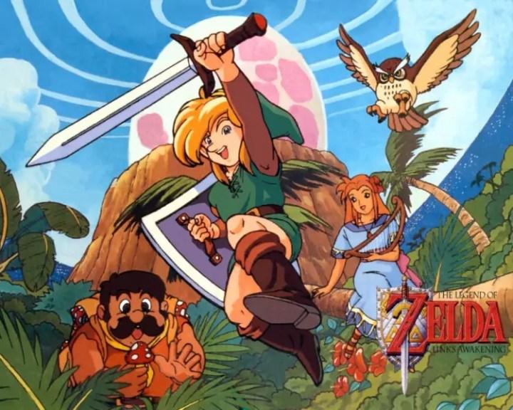Link's Awakening poster circa 1993