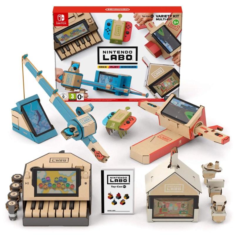Nintendo Labo projects