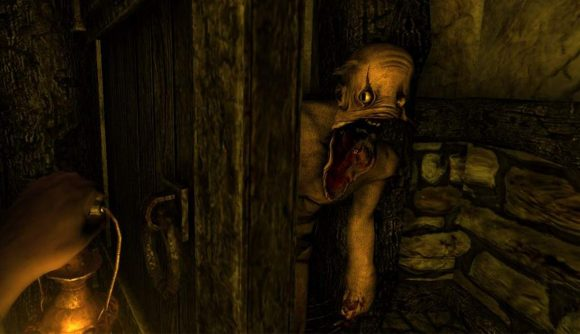 Amnesia 2 the Dark Descent Spooky retro games