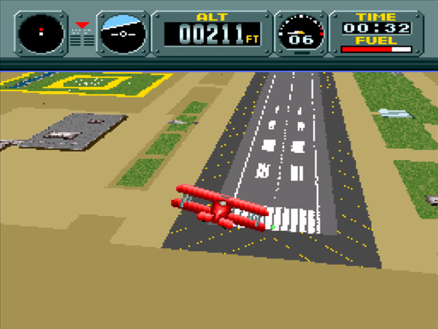 Pilotwings SNES flight