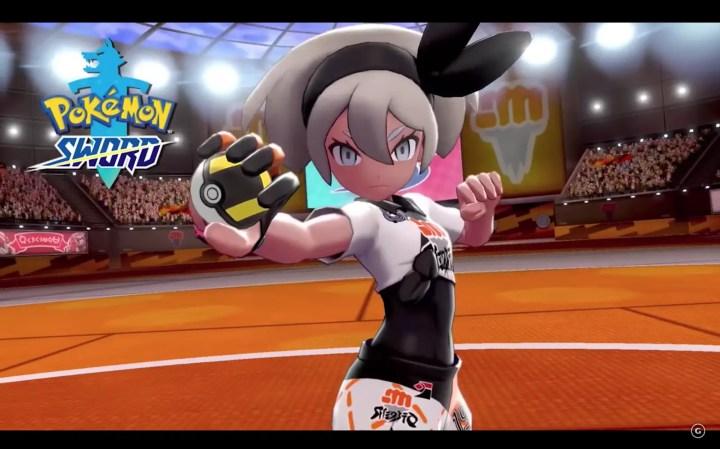 Pokemon Sword and Shield Gym Leader