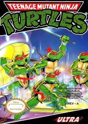 TMNT NES cover