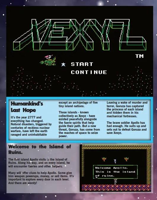 Xexyz page one, Ghetto Gamer Magazine