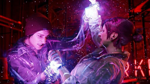 inFAMOUS Second Son battle scene