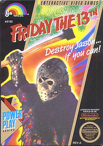 Friday the 13th for the NES cover art