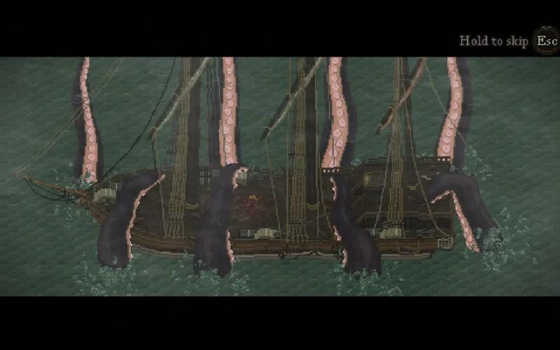 Sea Salt - Tentacles take a ship below the waves.