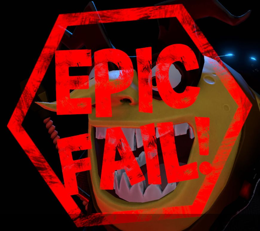 Yooka-Laylee and the Impossible Lair epic fail