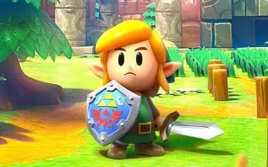 Zelda Link's Awakening Link