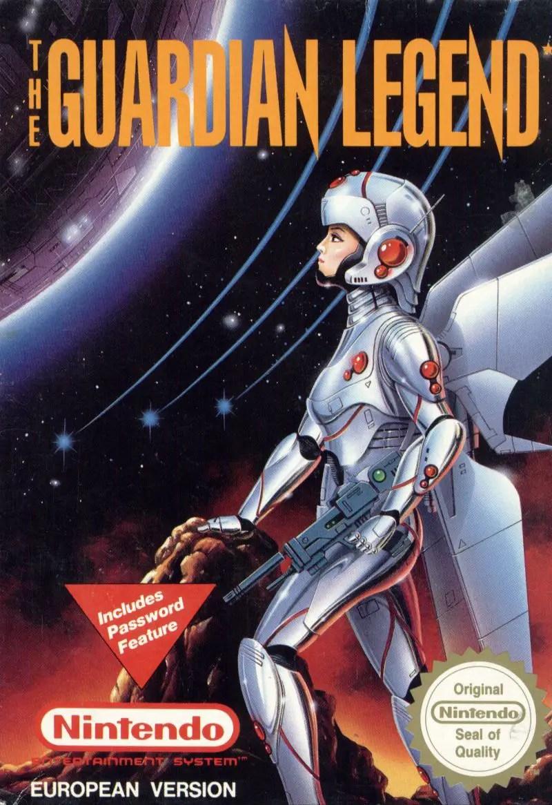 The Guardian Legend PAL cover