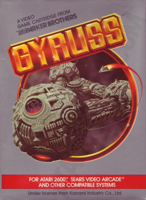 Gyruss Atari 2600 cover art