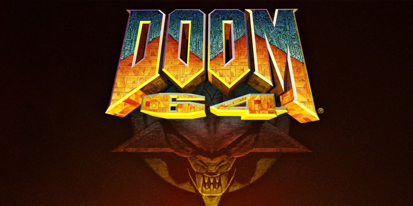 Doom 64 on Nintendo Switch