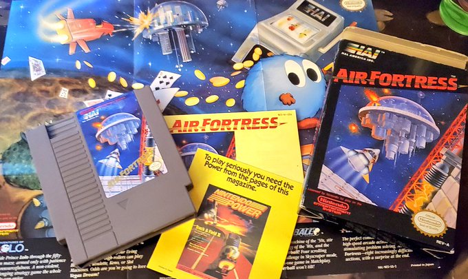 Greatest NES Space Games - Air Fortress