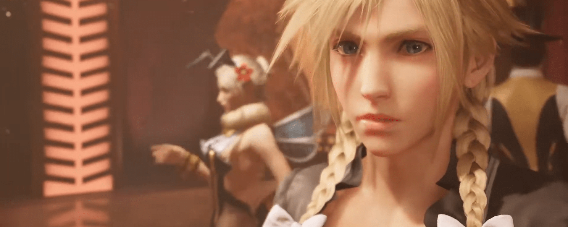Final Fantasy VII Remake - Cross Dressing Cloud