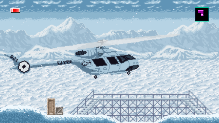 Axiom Verge 2 physical release helicopter landing