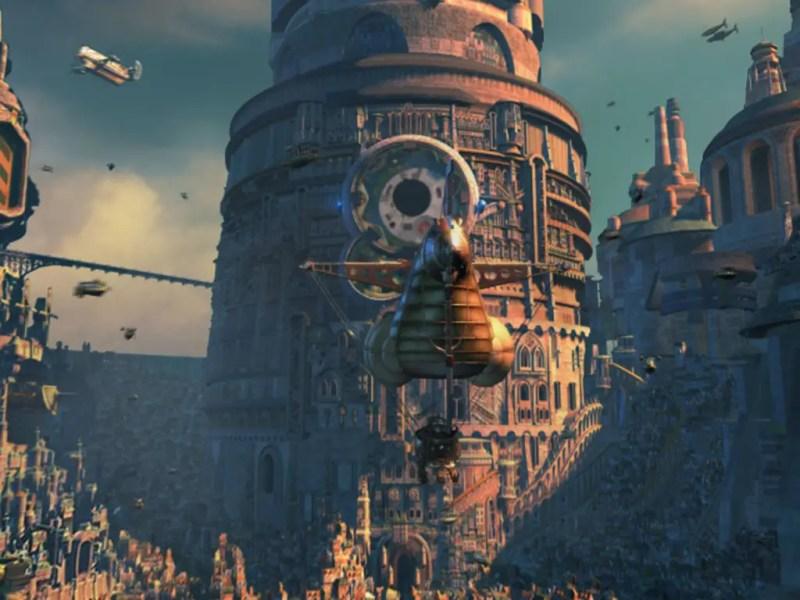 Final Fantasy 9 cutscene