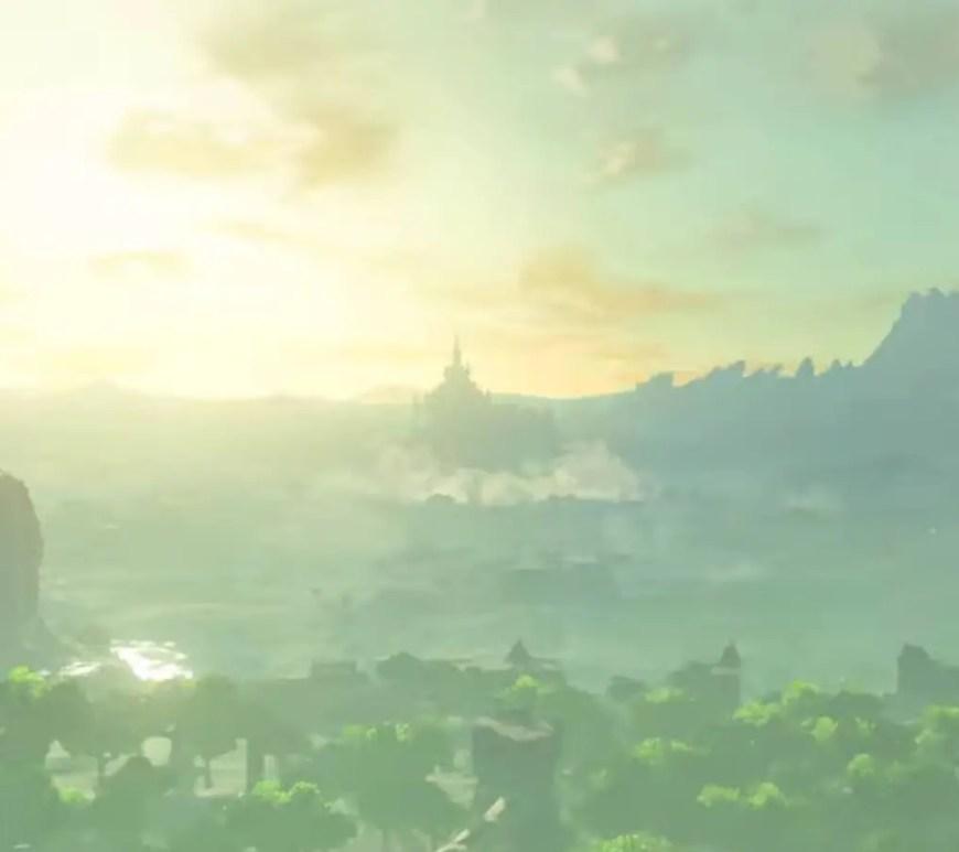 Breath of the Wild 2 Leaks - Hyrule Castle is levitating