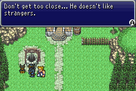 Final Fantasy VI Remake - in-game dialogue