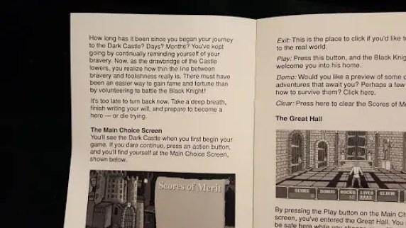 Dark Castle CD-i Review screenshot 1