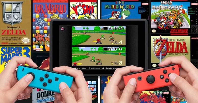 Nintendo Switch Online popular titles