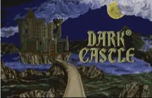 Dark Castle CD-i title screen